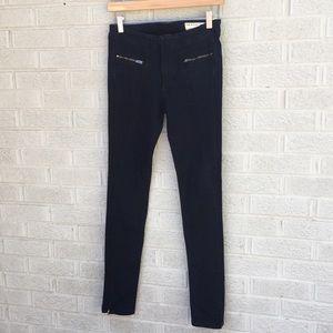 Rag & Bone JEAN Zipper Skinny Moto Jeans